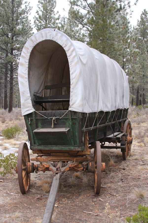 Conestoga Lastwagen stockbild
