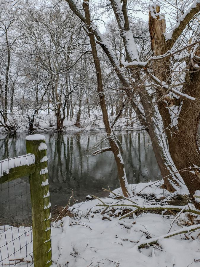 Conestoga rzeka zdjęcia stock