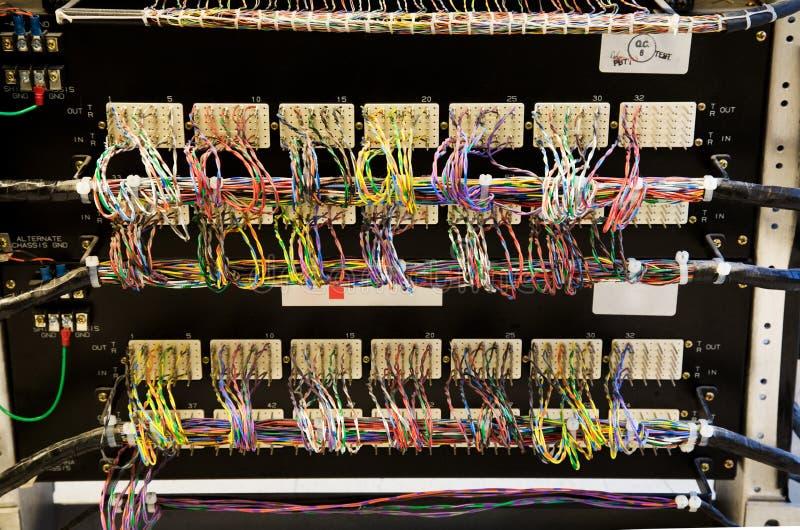 Conexão de rede imagens de stock