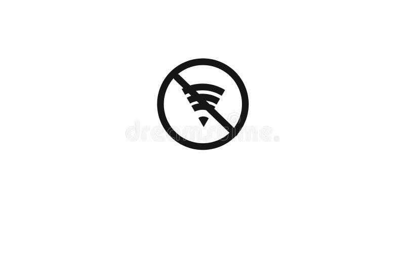 Conexão de Wi-Fi ilustração do vetor