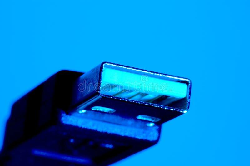 Conexão do USB imagens de stock