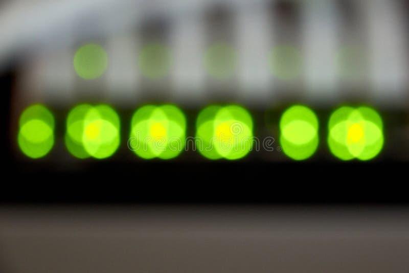 conexão dos ethernet do gigabit imagens de stock