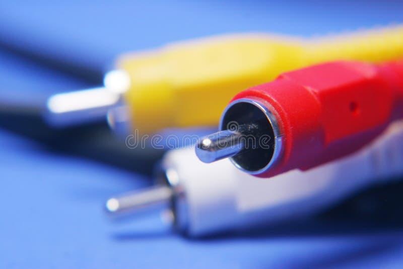 Conexão elétrica foto de stock