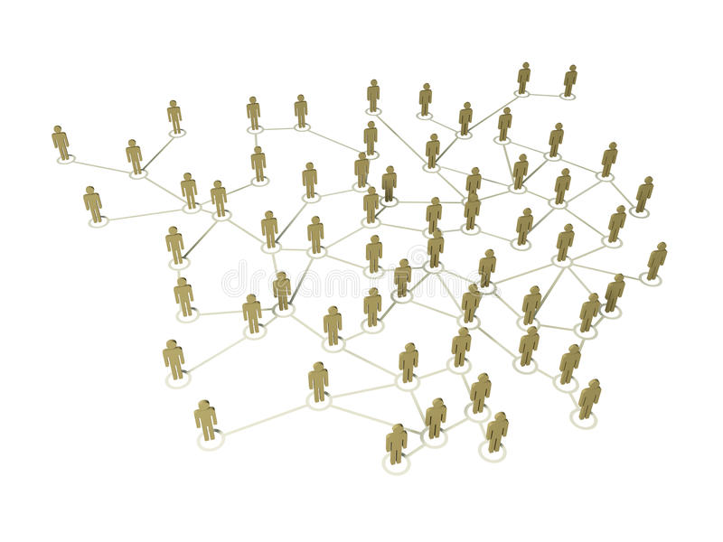 Conexão global ilustração do vetor