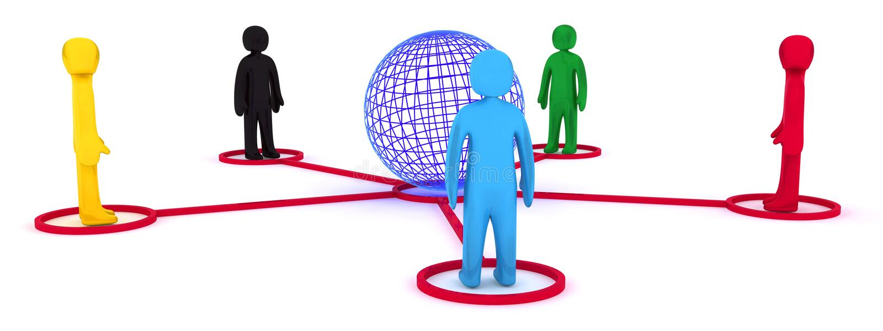 Conexão global ilustração stock