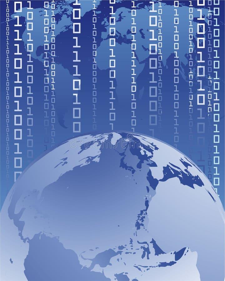 Conexão a internet ilustração do vetor