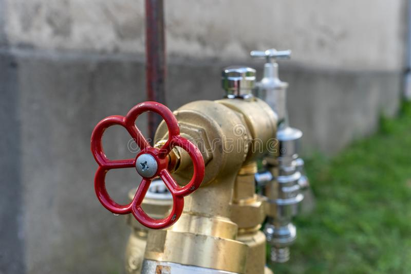 Conexão nova da água imagens de stock royalty free