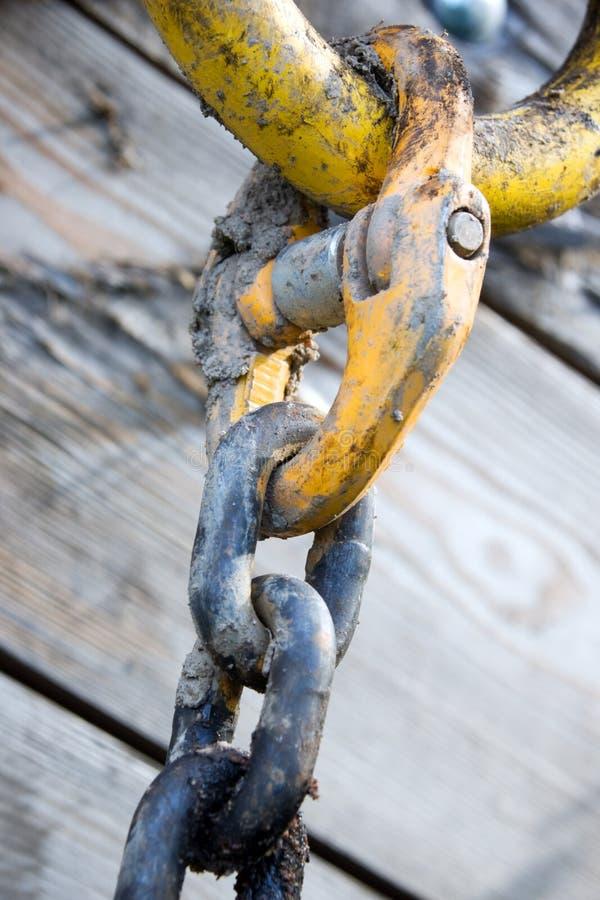 Conexión de cadena imagen de archivo