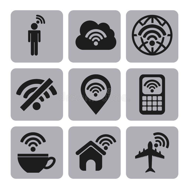 Conexión de Wifi libre illustration