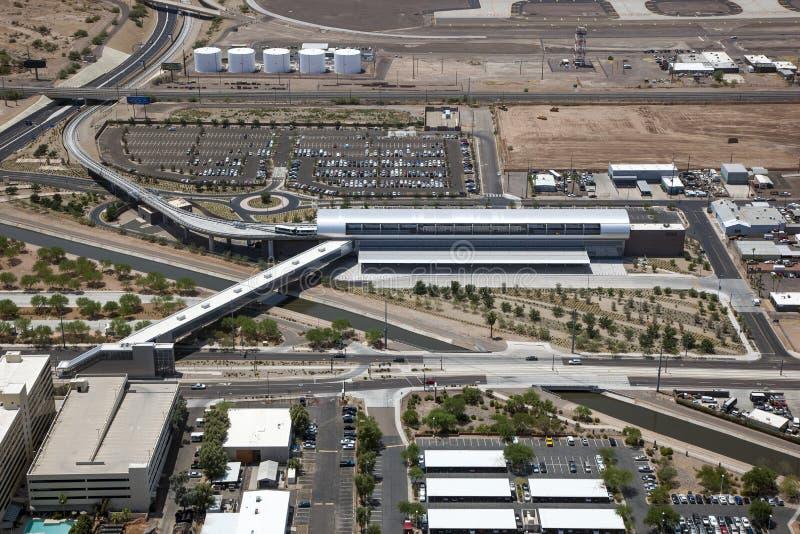 Conexión del aeropuerto foto de archivo libre de regalías