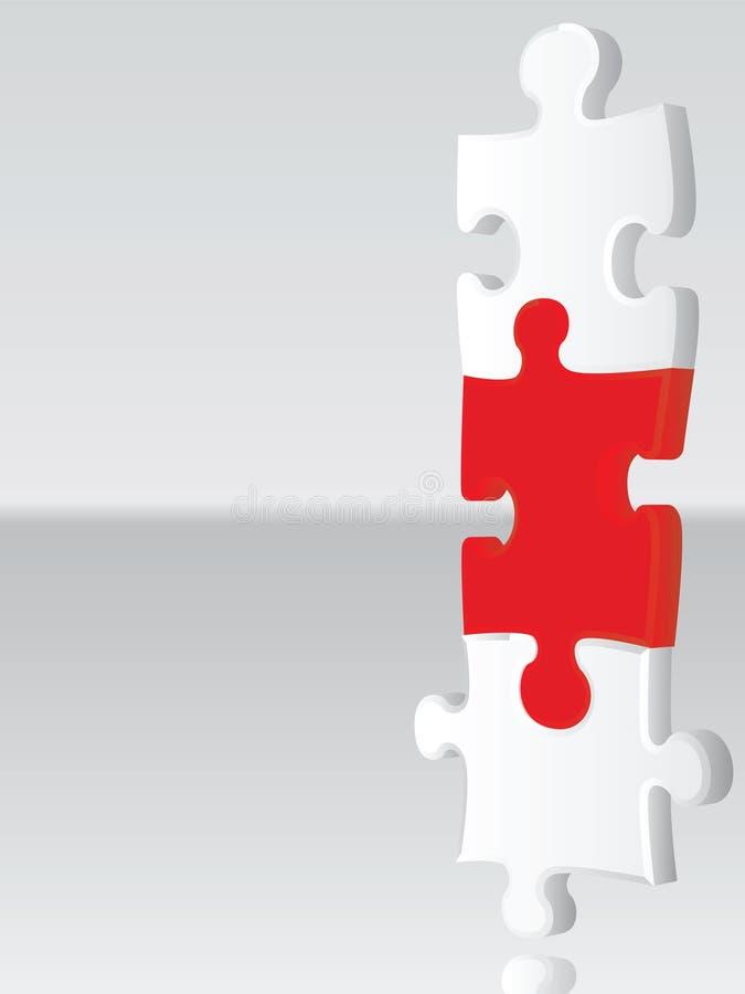 Conexión del rompecabezas libre illustration