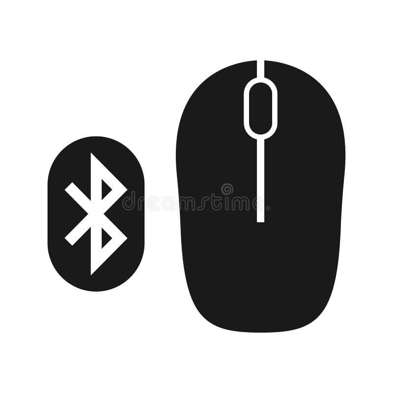 Conexión entre el ratón y el bluetooth Ayunan los datos libre illustration