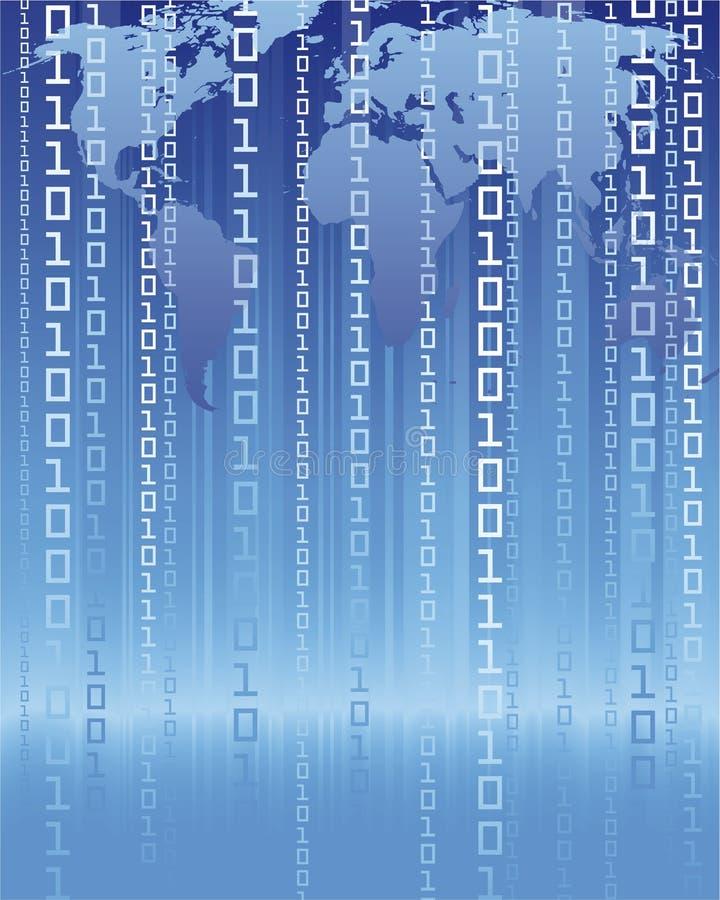 Conexión a internet ilustración del vector
