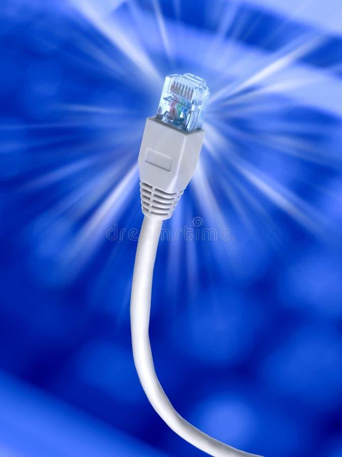 Conexión a internet foto de archivo