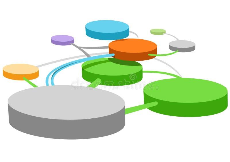Conexiones stock de ilustración