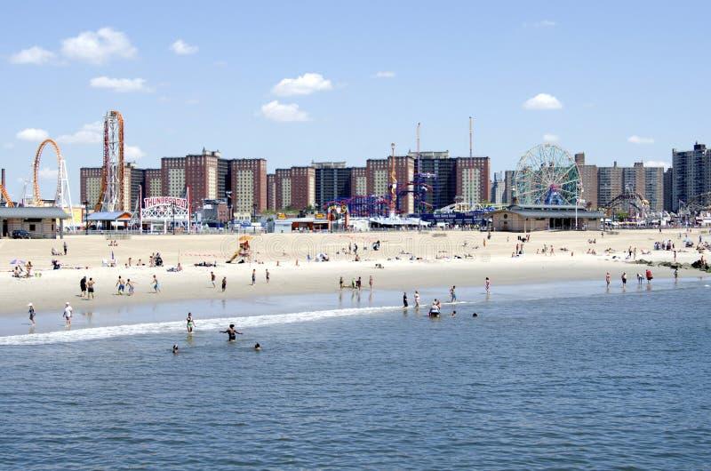 Coney Island stock fotografie