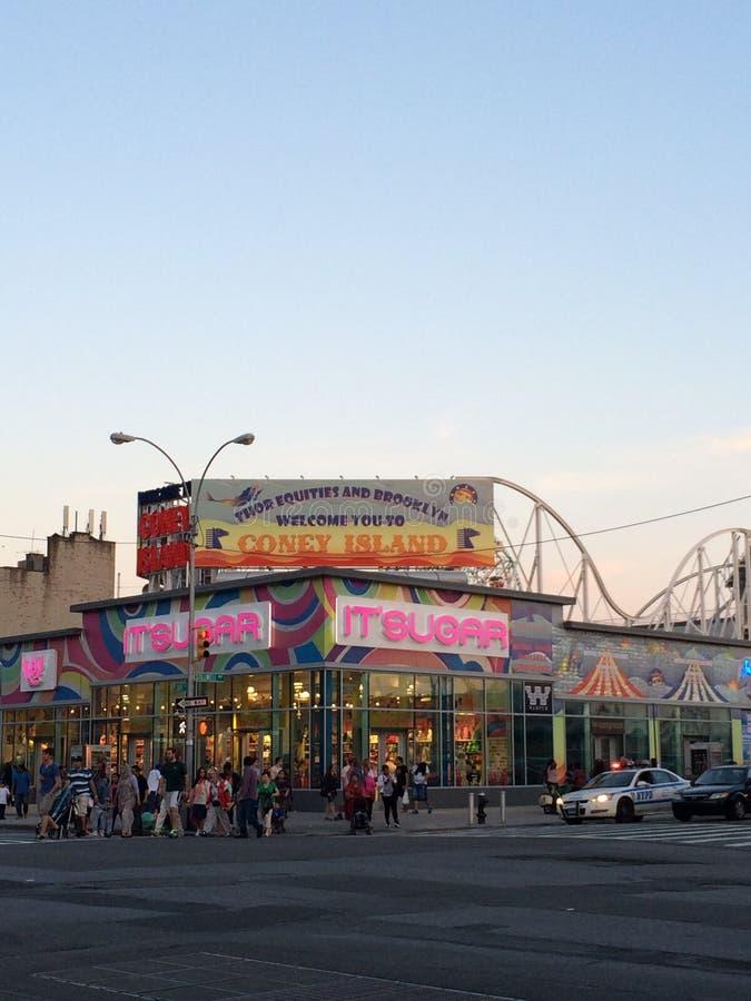 Coney Island royalty-vrije stock fotografie