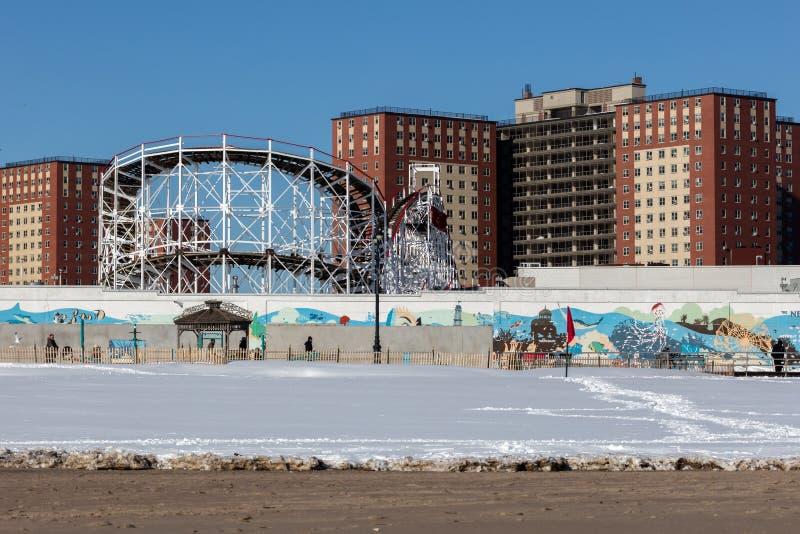 Download Coney Island, Brooklyn, New York Imagem de Stock Editorial - Imagem de passeio, brooklyn: 65580984