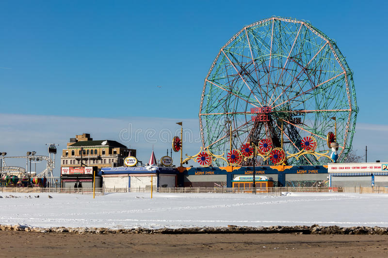 Download Coney Island, Brooklyn, New York Imagem de Stock Editorial - Imagem de novo, console: 65580994