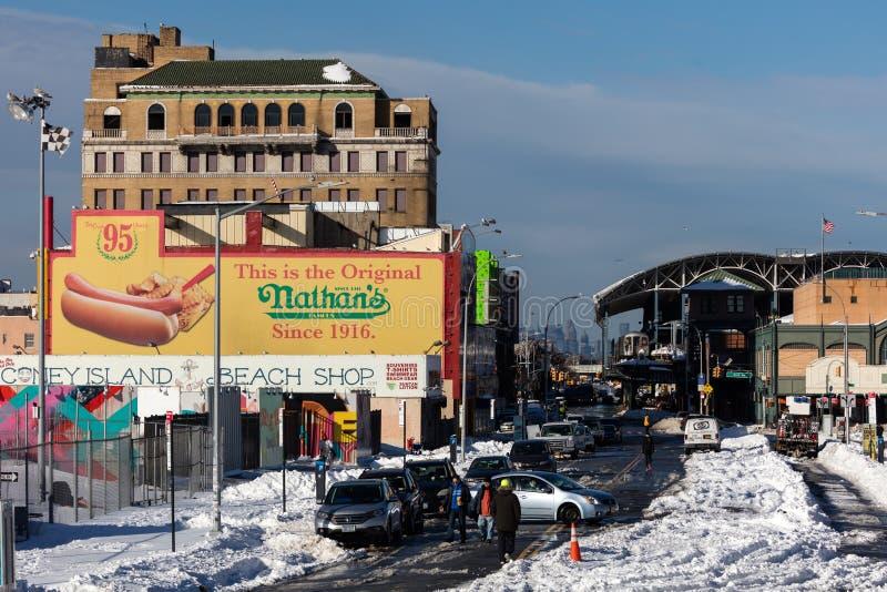 Coney Island Brooklyn, New York royaltyfria bilder