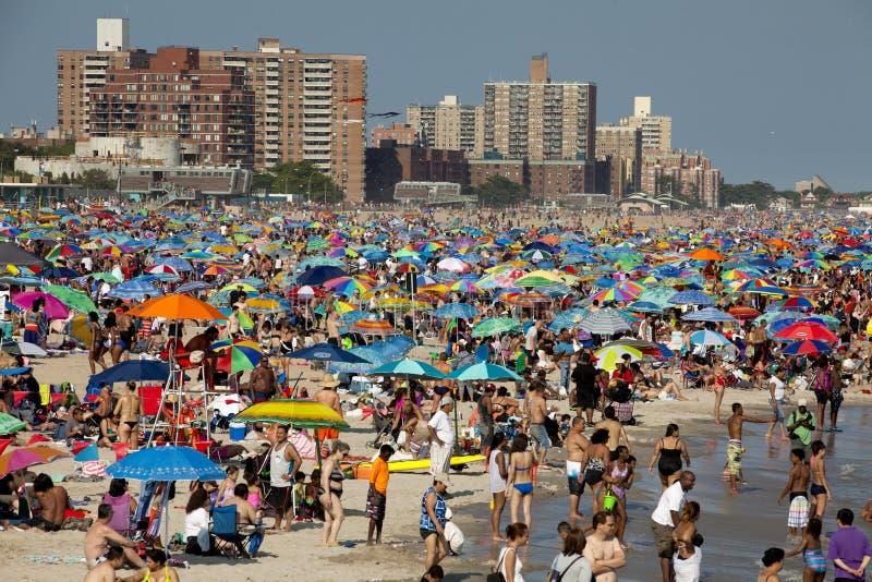 Coney Island - de Stad van New York royalty-vrije stock afbeelding