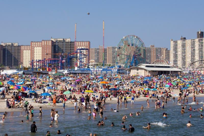 Coney Island - de Stad van New York royalty-vrije stock fotografie