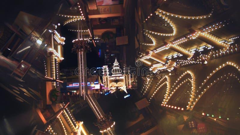 Coney Island en Luna Park imagenes de archivo