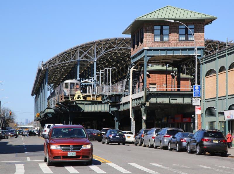 Coney Island Luna Park i Brooklyn, New York royaltyfri fotografi