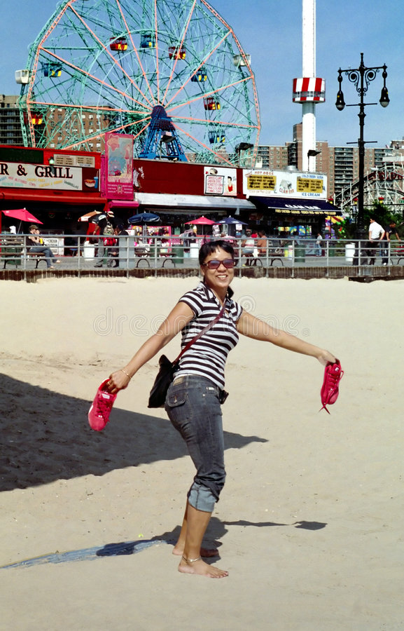 Download Coney Island New York Midway USA Stock Photo - Image: 3160338