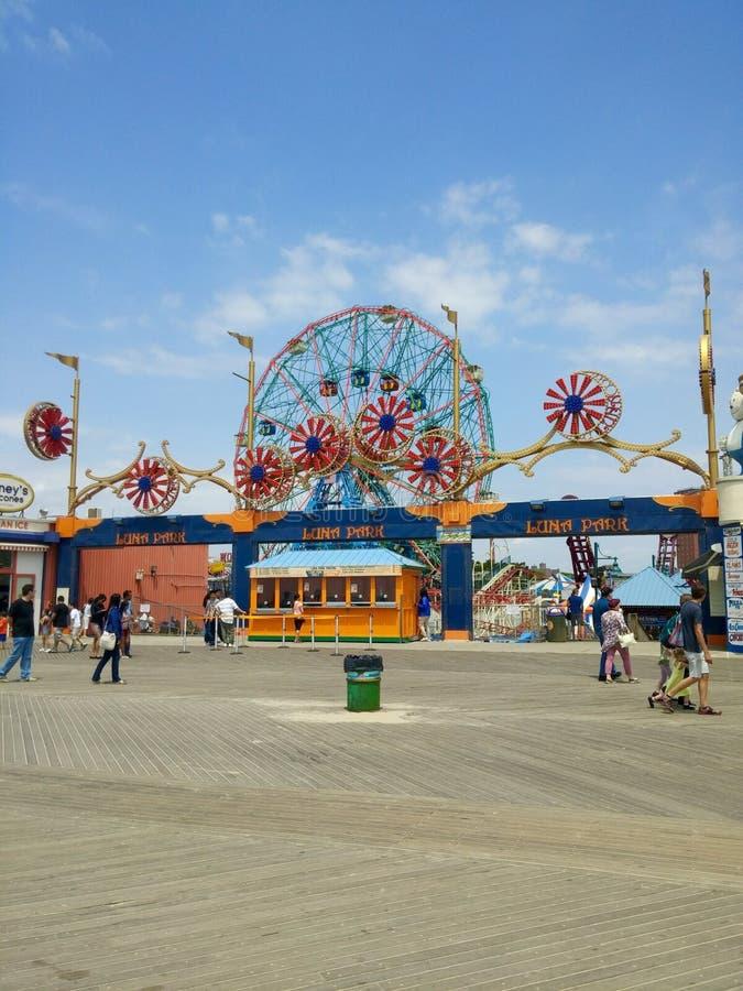 Coney Island NYC imagen de archivo libre de regalías