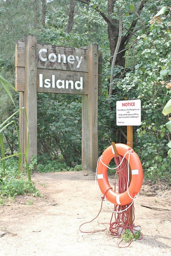 Coney Island Sjngapore arkivbild