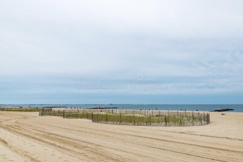 Coney Island strand i New York City, USA royaltyfria foton