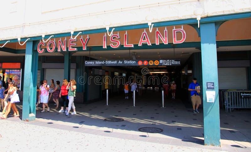 coney wyspy metro obrazy royalty free