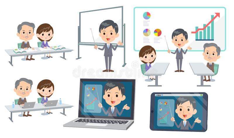 Conférence business_3 de réunion illustration de vecteur