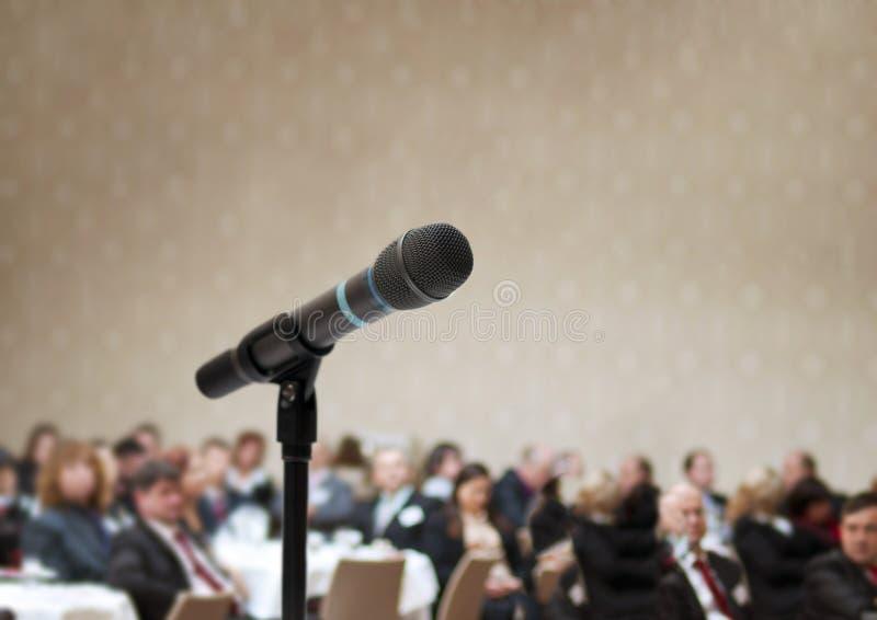 Conférence d'affaires photographie stock libre de droits