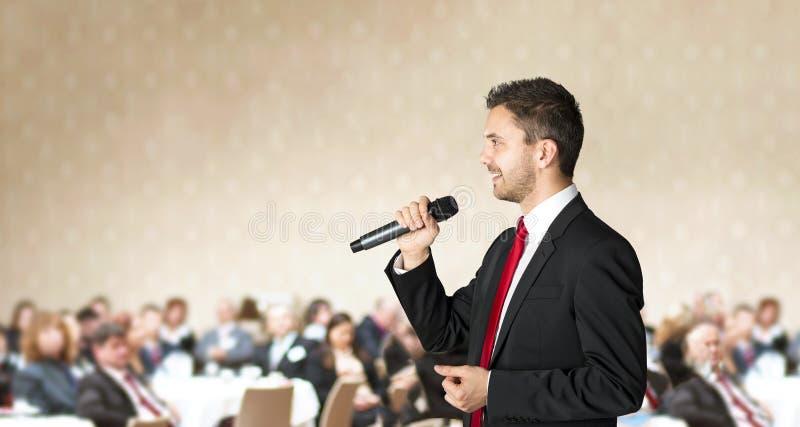 Conférence d'affaires image libre de droits