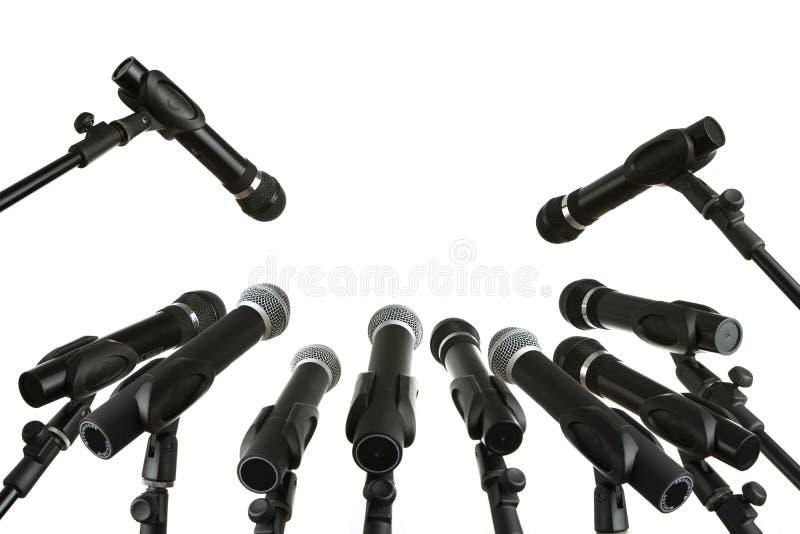 Conférence de presse image libre de droits