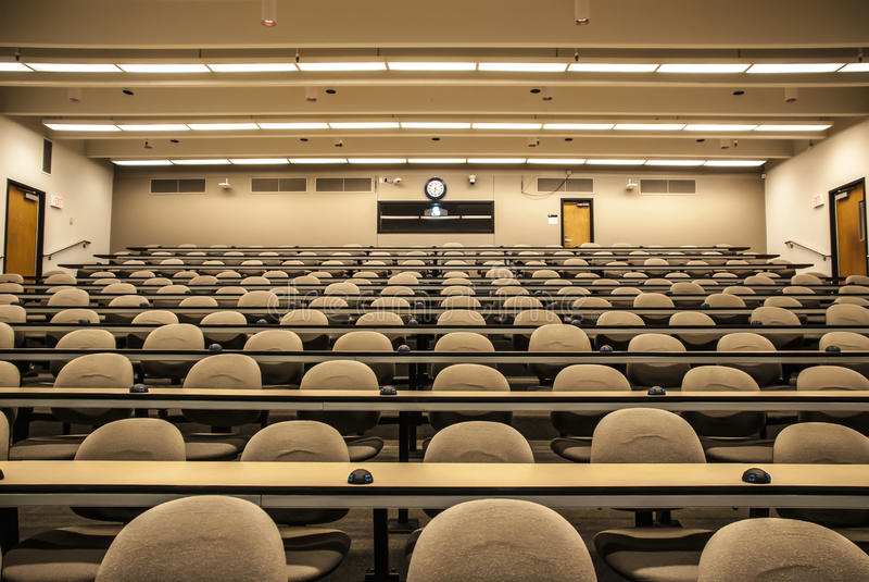 Conférence Hall Classroom photographie stock