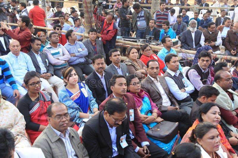 Conférence nationale de ligue du Bangladesh Awami photographie stock
