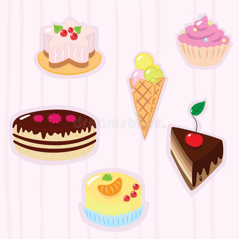 Download Confection background stock vector. Illustration of hazel - 17234622