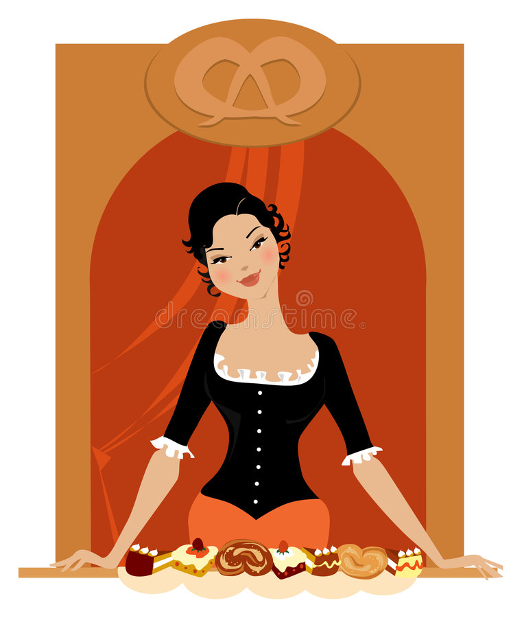 Confectionery is open stock illustration