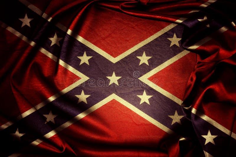 confederate флаг стоковая фотография