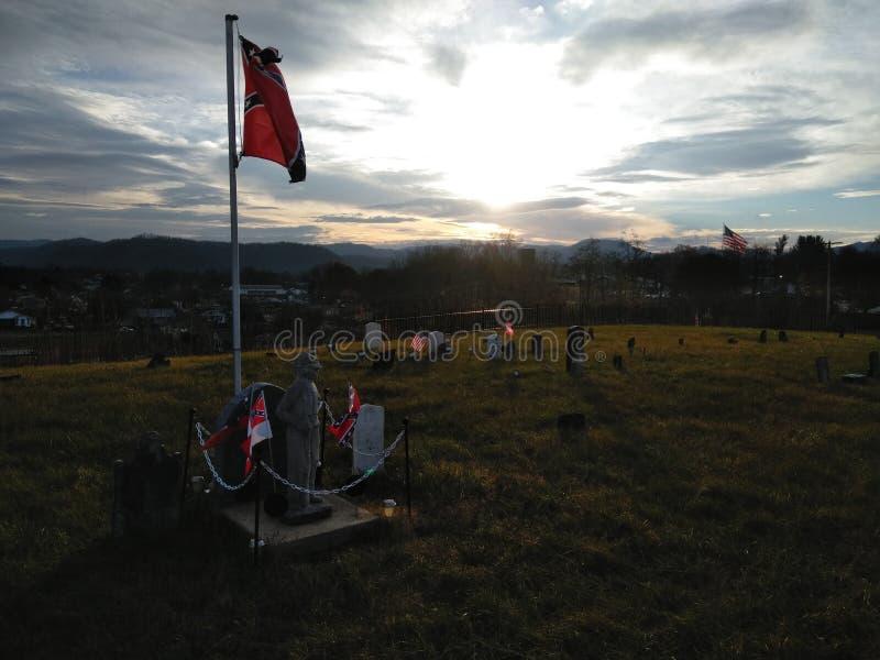 Confederate Cemetery In Fredericksburg Va Stock Image