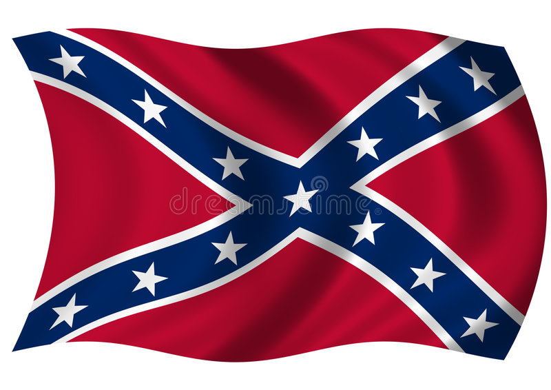 Confederate Naval Jack Stock Images
