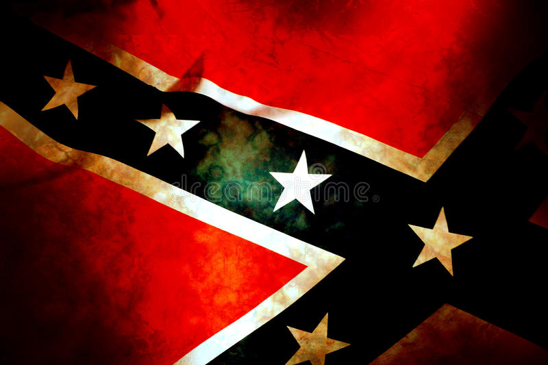 Confederate Patriot Flag royalty free stock photo