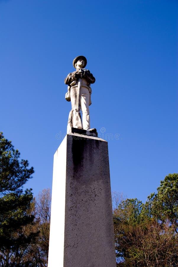 Confederate Statue Stock Image