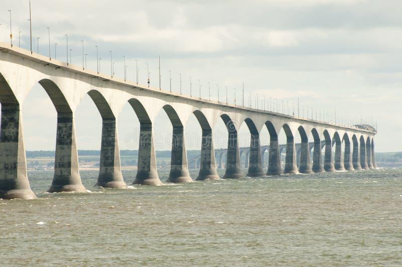 Confederation Bridge - Canada. Confederation Bridge in Eastern Canada royalty free stock images
