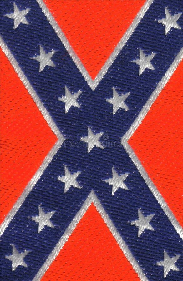 Confederation flag. Background confederation states of America flag stock image
