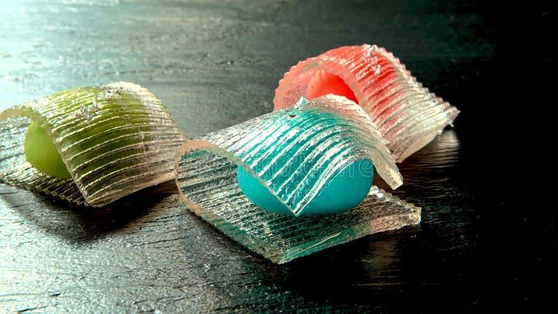Confeitos tradicionais japoneses na mola imagens de stock