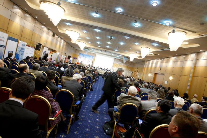 Conferência fotografia de stock